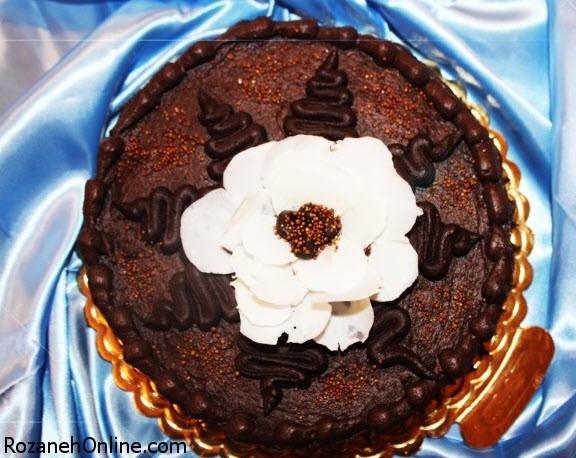 طرز تهیه کیک گیاهی شکلاتی با استفاده از سرکه سیب