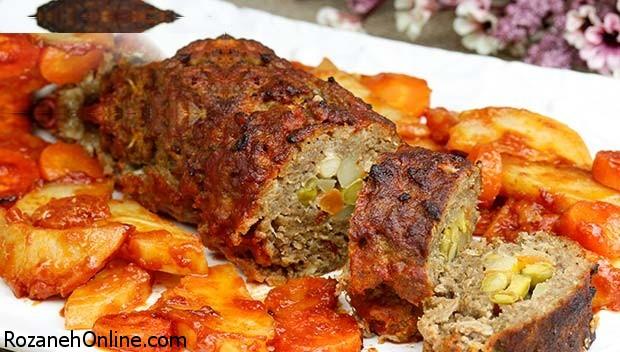 رسپی کوفته مغزدار  لذیذ و خوردنی ترکیه همراه با سس مخصوص