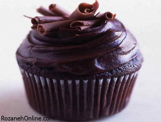 کاپ کیک دبل چاکلت را با این روش درست کنید!