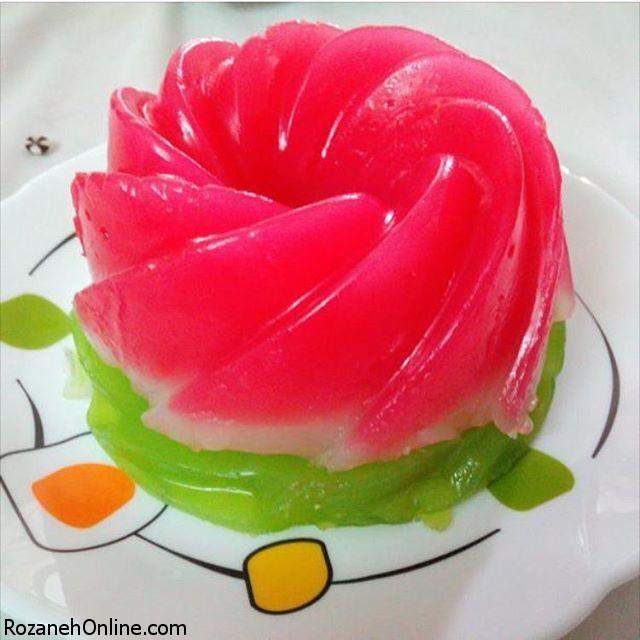 مسقطی هندوانه شیرین ترین دسر یلدایی