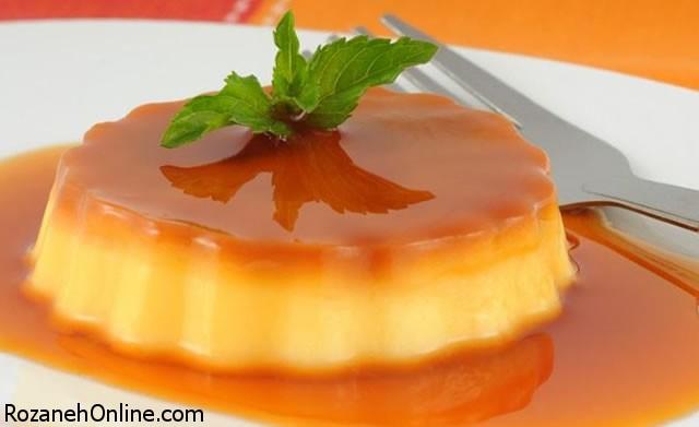 طرز تهیه موس کرم کارامل با پرتقال + خواص پرتقال