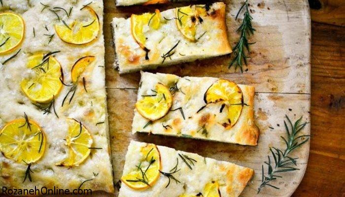 صبحانه ای متفاوت با تهیه نان لیمو و رزماری