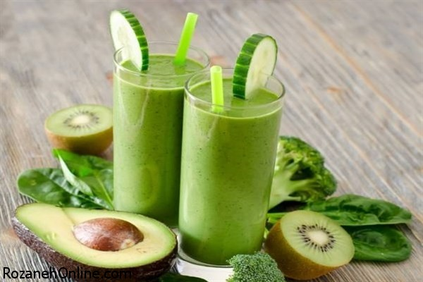 طرز تهیه نوشیدنی سبز ویژه لاغر شدن و کاهش وزن