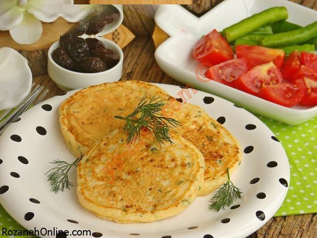 دستور پخت پنکیک مخصوص صبحانه ترکیه  و نکات طلایی آن