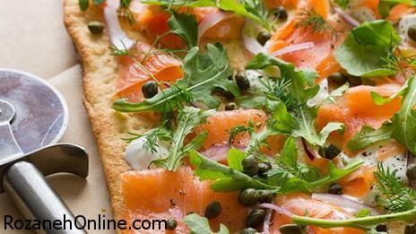 طرز تهیه پیتزا دودی رژیمی با 50 درصد مالری