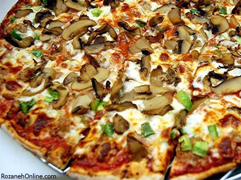 طرز تهیه پیتزای رژیمی و بدون هیچ کالری اضافه