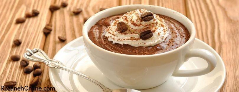 طرز تهیه پودینگ قهوه ویژه روزهای سرد زمستان