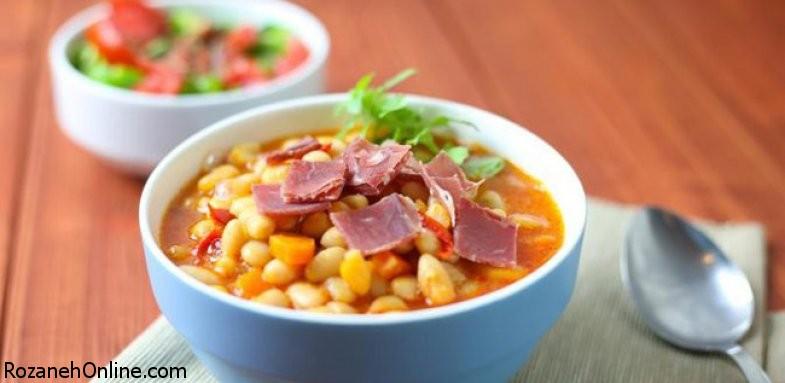 از بین بردن استرس با مصرف خوراک لوبیا