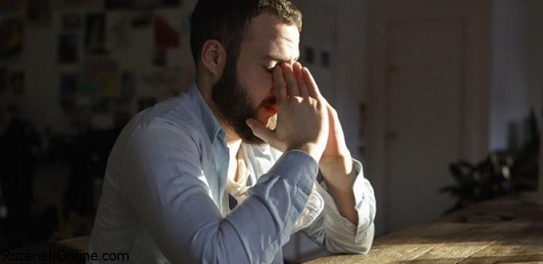 احساس ناامیدی در مردان