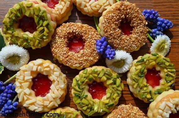 طرز تهیه شیرینی دوقلو معروف ترین شیرینی نوروزی