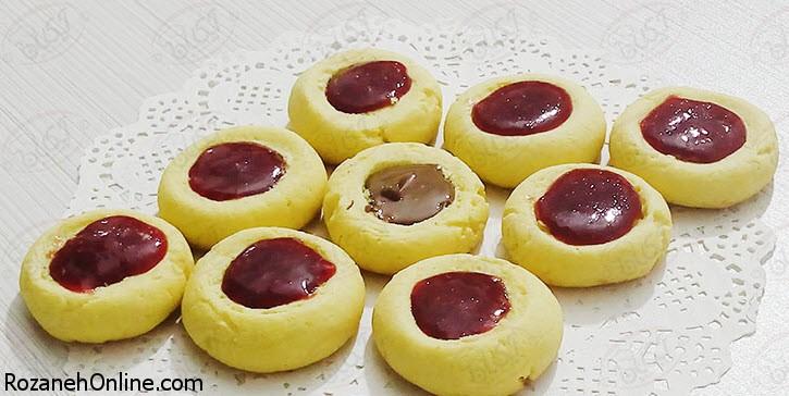 طرز تهیه شیرینی انگشتی ویژه پذیرایی نوروزی