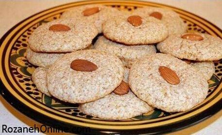 طرز تهیه شیرینی بادامی ویژه پذیرایی نوروزی