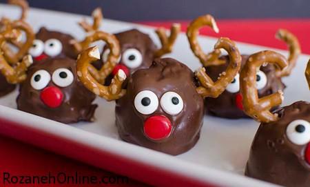 طرز تهیه شیرینی گوزنی ویژه جشن کریسمس