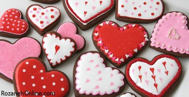 طرز تهیه شیرینی قلبی شکلاتی ویژه جشن دو نفره