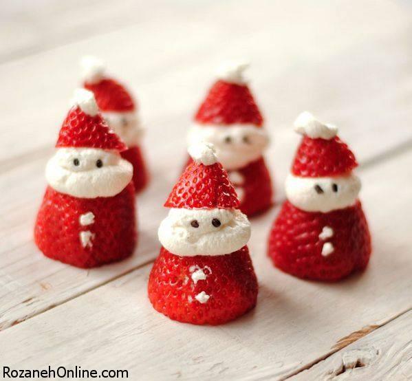 طرز تهیه شیرینی بابانوئلی ویژه جشن سال نو