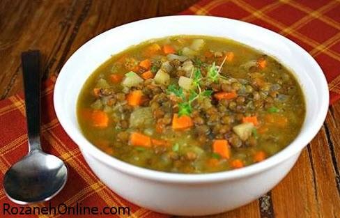 تنظیم دیابت با خوردن و تهیه سوپ عدس و سیر + خواص عدس