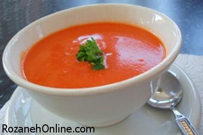 دستور پخت سوپ چربی سوز کاملا رژیمی و بدون کالری