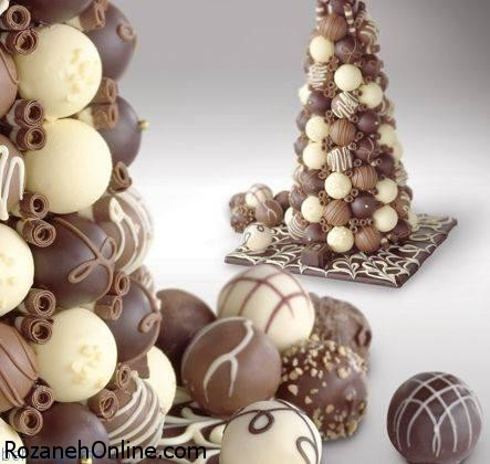 درست کردن توپک شکلاتی فوری با کیک اسفنجی ساده