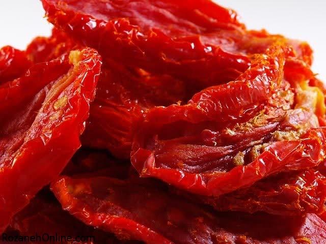 خشک کردن گوجه فرنگی و کباب کردن سیر با دو روش آسان