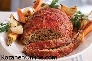 دستور پخت دست پیچ یا رولت گوشت با روشی متفاوت