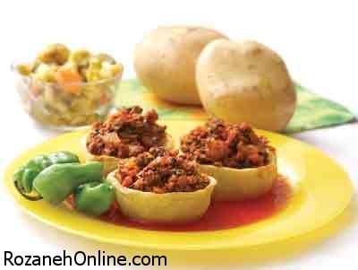 چگونه دلمه سیب زمینی با سویای دانه ریز تهیه کنیم؟