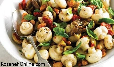 طرز تهیه انواع غذا با قارچ بسیار خوشمزه و عالی