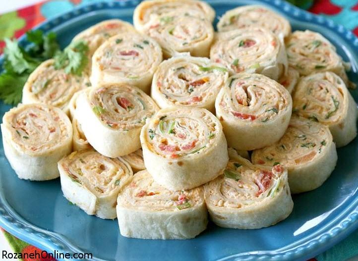 طرز تهیه غذای یونانی با نان تورتیلا