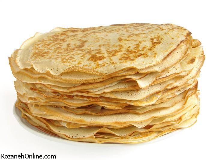طرز تهیه خمیر کرپ با استفاده از این مواد اولیه
