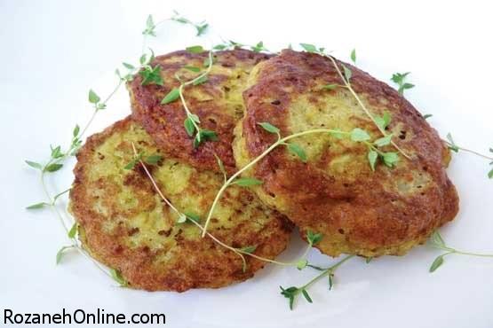 طرز تهیه کوکو صبحانه با استفاده از آرد برنج
