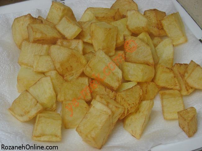 رمز و راز تهیه  کوفته با خوراک سیب زمینی