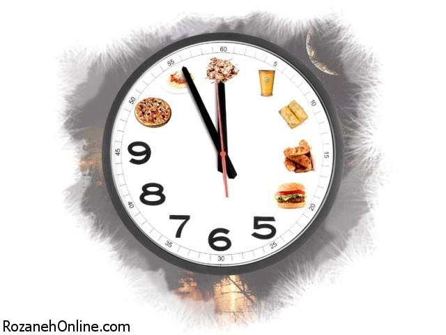 تاثیر دیر غذا خوردن بر میزان قند خون
