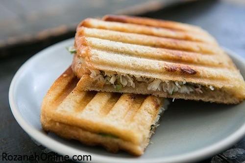 دستور پخت ماهی برگر با نان تست همراه با خواص ماهی