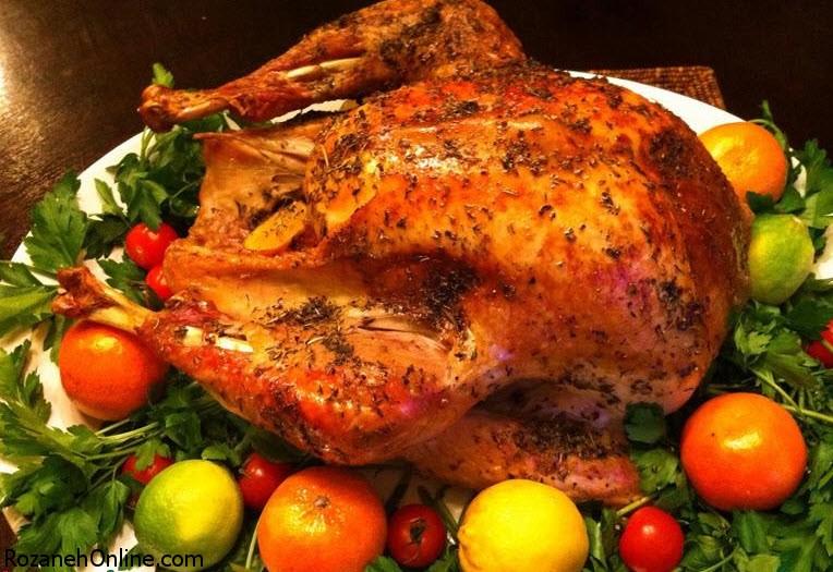 طرز تهیه مرغ بریان خانگی با روش پخت کاملا رستورانی