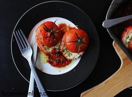املت گوجه کبابی را با کباب کردن گوجه ها خوشمزه تر کنید!