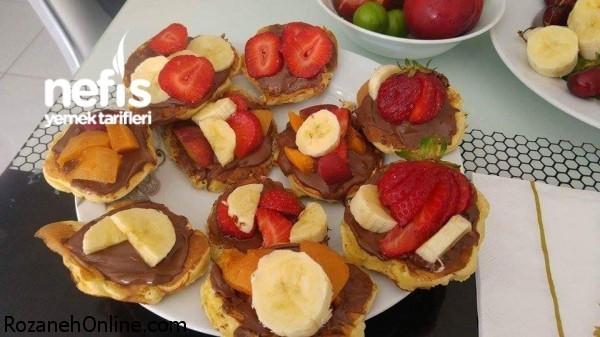 پنکیک خوشمزه, خوشرنگ با طرز تهیه راحت: آموزش پنکیک