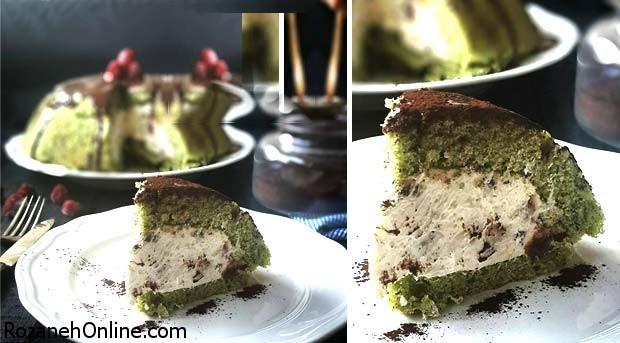 طرز تهیه کیک اسفناج راحت و خوشمزه