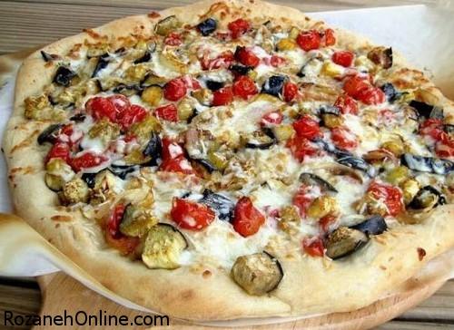 درست کردن پیتزا بادمجان با یک روش کاملا متفاوت