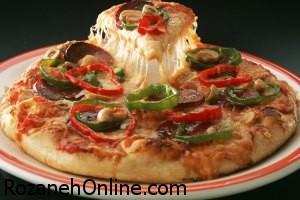 چگونه پیتزا لوبیا با گوشت چرخ کرده درست کنیم؟