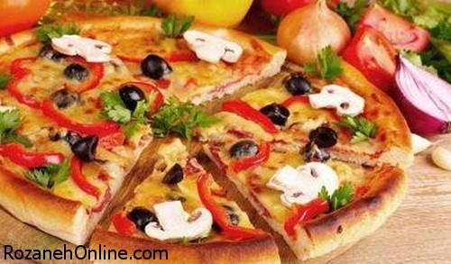 طرز تهیه پیتزا گیاهی با استفاده از ریحان تازه