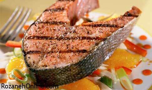 نحوه پخت ماهی با توجه به دستورات سرآشپزها