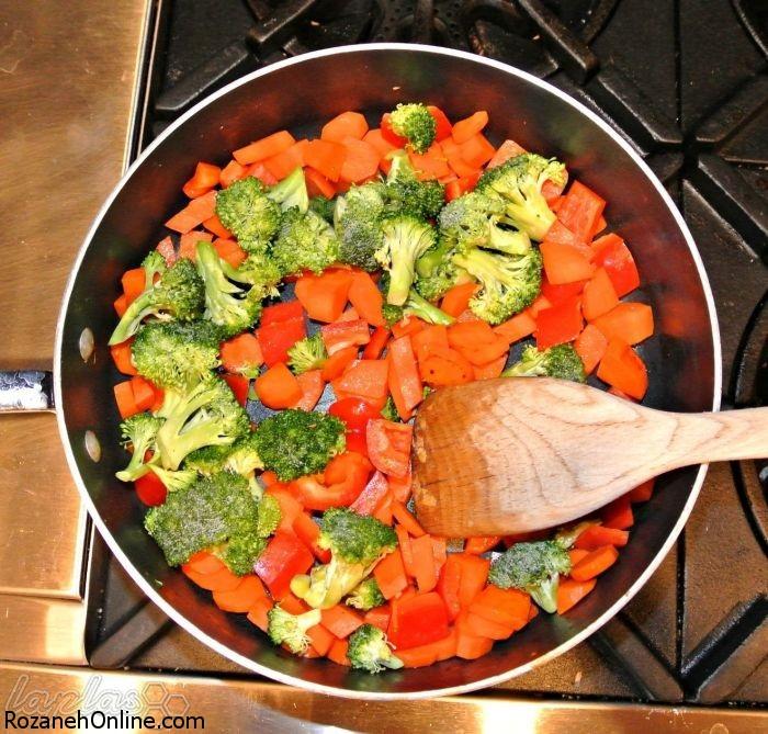 حفظ خواص سبزیجات با این شیوه پخت بسیار آسان