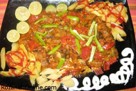 طرز تهیه راگوی سبزیجات با استفاده از حبوبات و سبزیجات