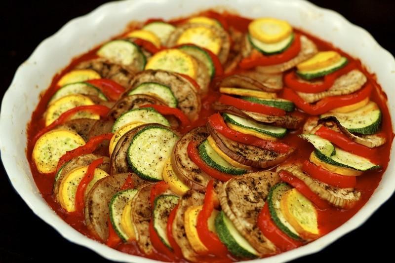 دستور پخت راتاتویی یک غذای فرانسوی اصیل