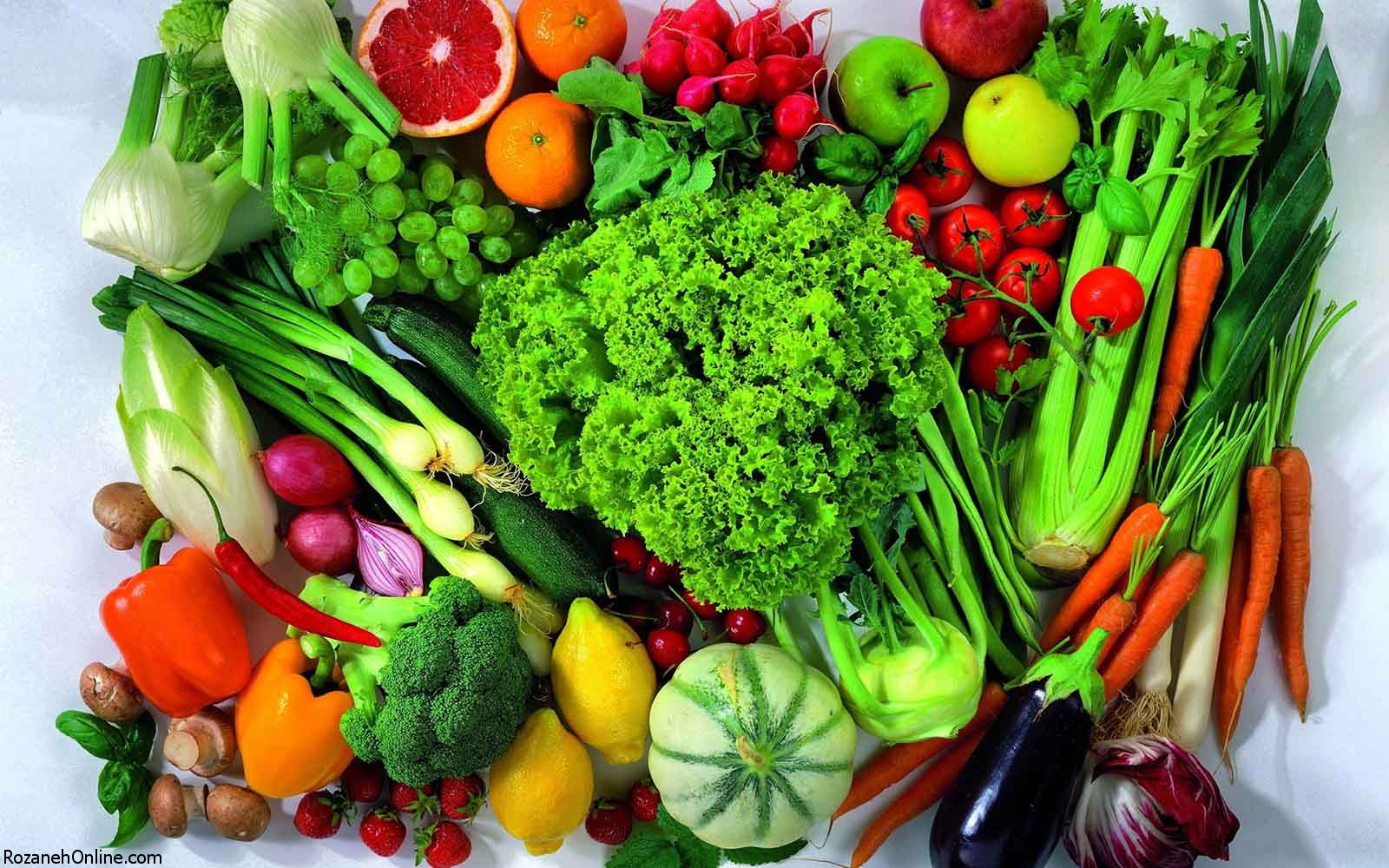 سبزیجات خام و تاثیر آن در حفظ خواص صحت دارد؟