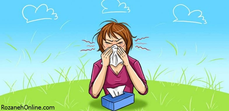 تاثیر آلرژی فصلی بر بیماری کرون