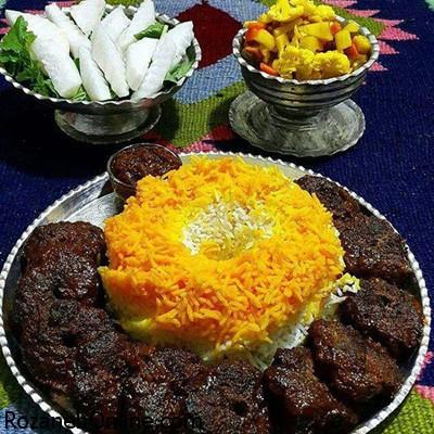 طرز تهیه شامی با سس رب انار و گوشت چرخ کرده گوساله