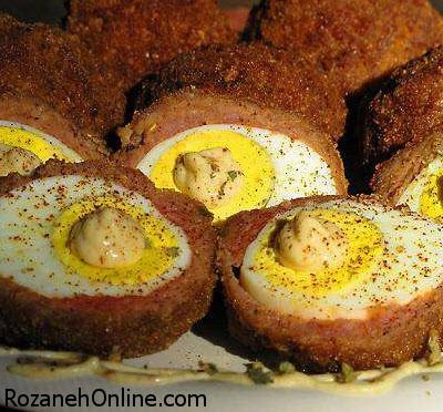 دستور تهیه تخم مرغ سوخاری ویژه یک شام سبک