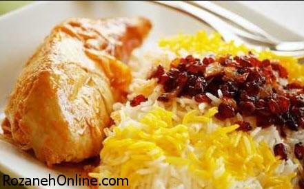 زرشک پلو مجلسی را با روش سرآشپزهای معروف طبخ کنید!