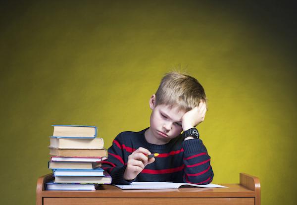 درمان استرس تحصیلی در کودکان