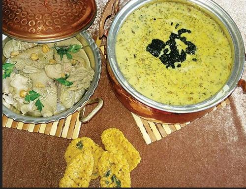 پخت آش ترخینه یک آش سنتی کرمانشاهی